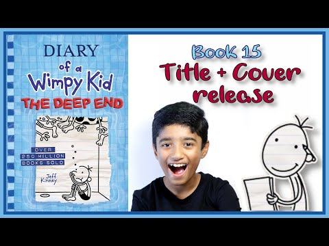 New Diary Of A Wimpy Kid Book 15 The Deep End Title And Cover Released 3 In 1 Update Youtube