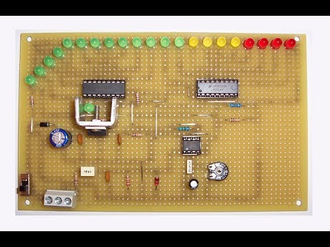 diy led tachometer homemade electric diagram in video by ste rh youtube com