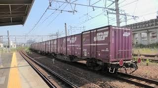 JR東海 枇杷島駅 EF210 新塗装通過