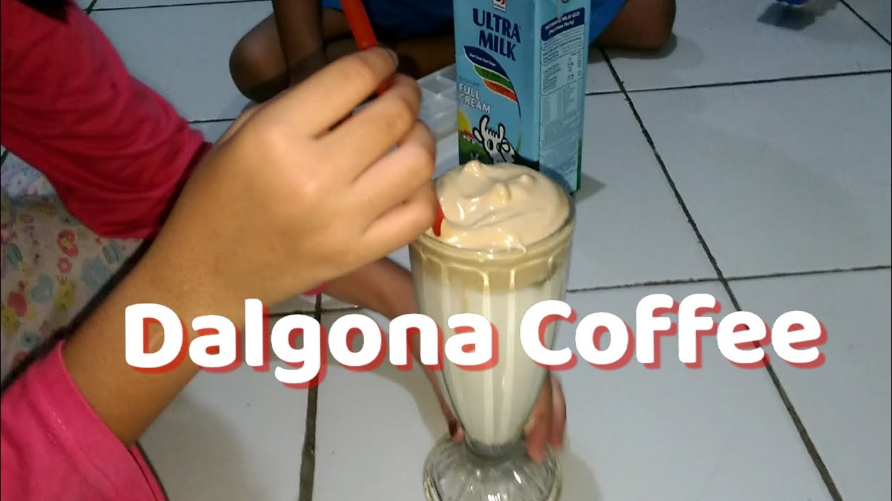 Dalgona Coffee yang lagi fenomenal & cara membuatnya