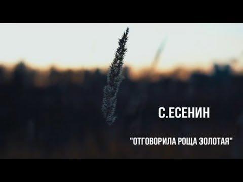 Отговорила роща золотая | Автор стихотворения: Сергей Есенин