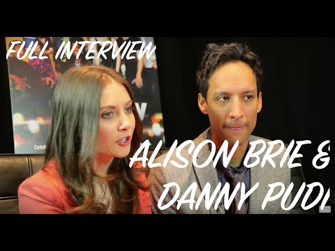 Alison Brie & Danny Pudi Interview
