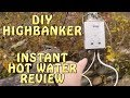 American Gold Prospectors Ep.10 Se.01 Propane Water Heater for Wetsuit