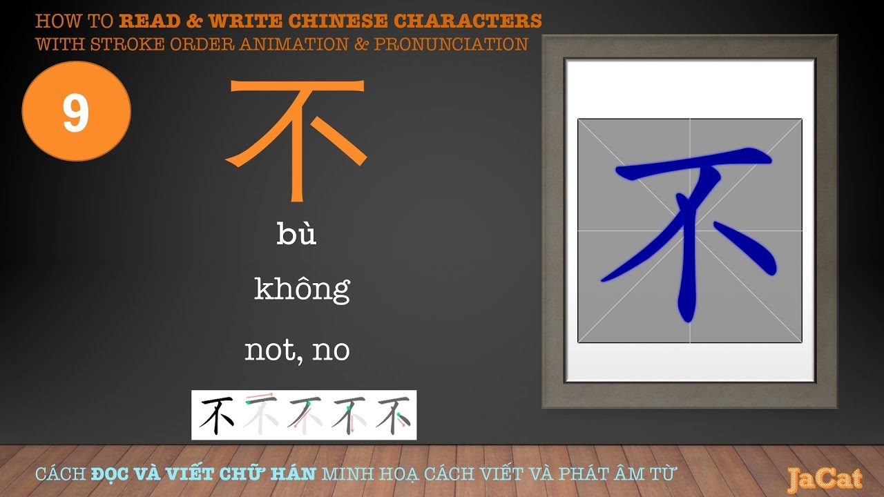 how to read chinese writing