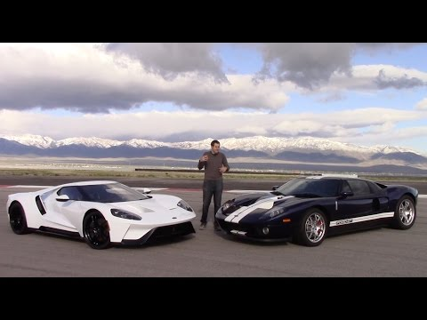 Thumbnail: 2017 Ford GT vs. 2005 Ford GT: First Comparison Test!