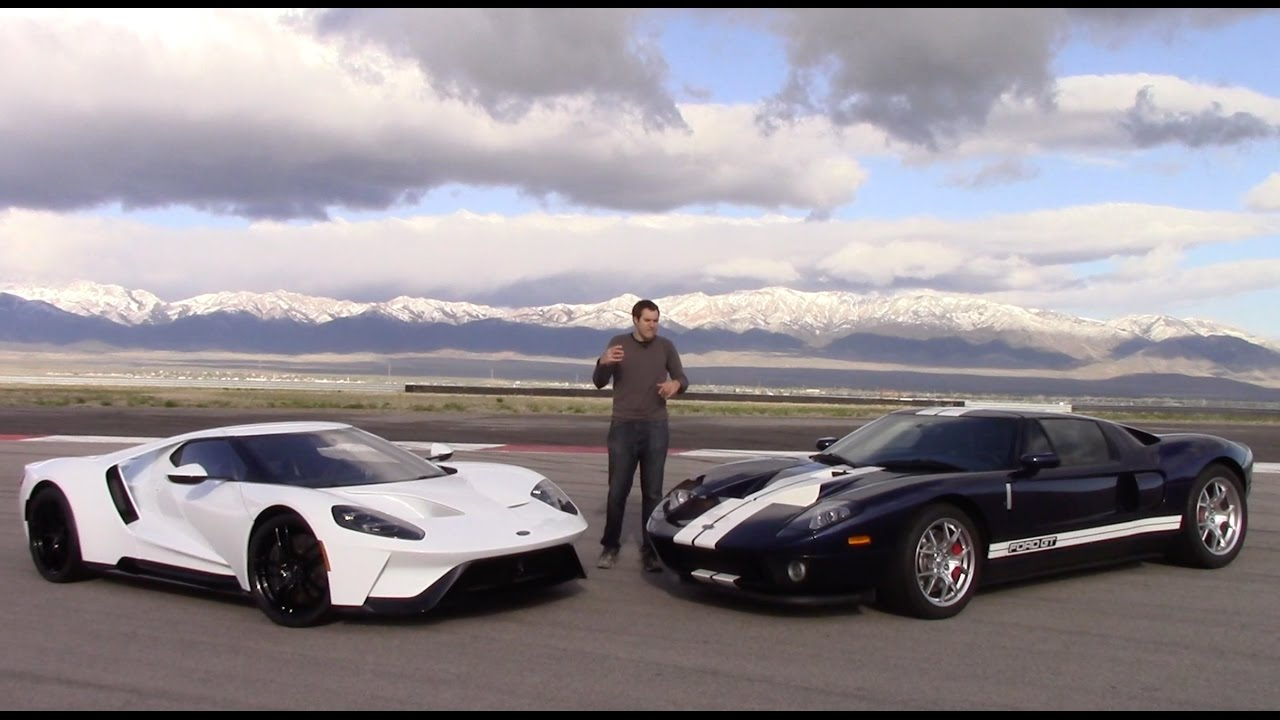 2017 Ford Gt Vs 2005 First Comparison Test