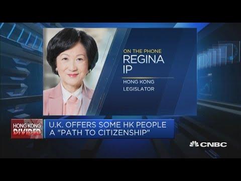 UK's suggested path to citizenship is 'a joke,' says Hong Kong legislator