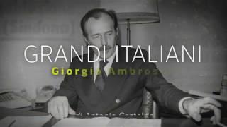 Giorgio Ambrosoli (11 luglio 1979) Grandi Italiani/2