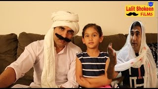 Taau & Taai in Big Bosh House  | Lalit Shokeen Comedy |