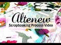 Scrapbooking Process #442 Altenew / I'm Always Here for You