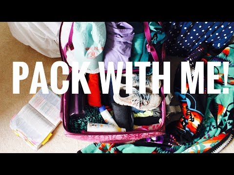 HOW TO PACK FOR A MISSIONS TRIP // Pack With Me