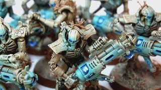 Speed painting sandstone Necrons