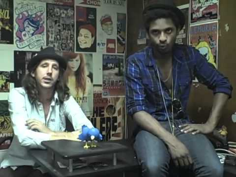 Shwayze & Cisco Adler - Interview at The Roxy Theatre on April 20, 2011