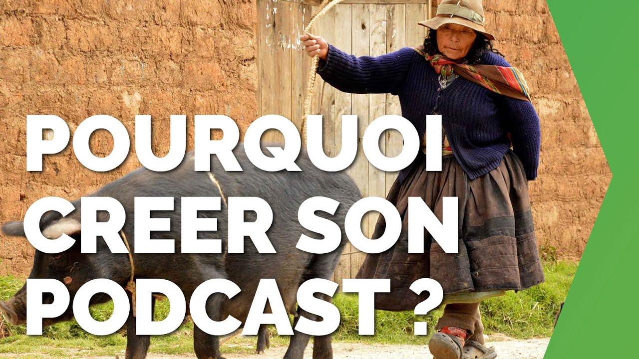 Pourquoi créer son podcast ou lancer sa webTV ?  #109 | Podcast parlons business, David Levesque