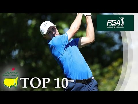 TOP 10 SHOTS: Masters Tournament 2017
