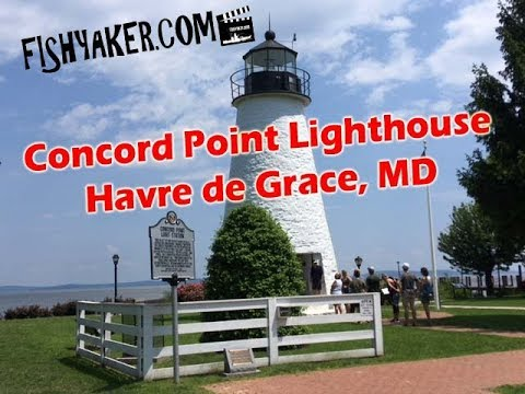 Video Tour of the Concord Point Lighthouse: Havre de Grace, Maryland