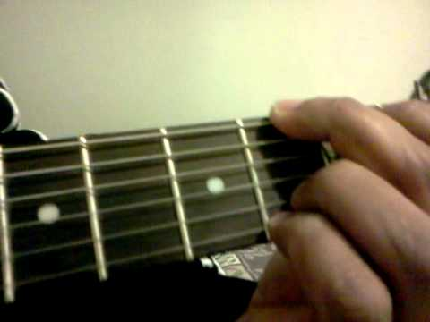 G6 Guitar Chord - YouTube