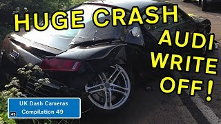 UK Dash Cameras - Compilation 49 - 2018 Bad Drivers, Crashes + Close Calls