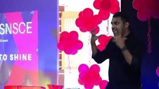 Selling your mirror image | Arunan Arivalagan | TEDxSNSCE