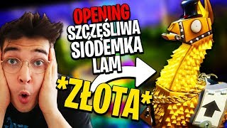 OPENING 3 x LUCKY SEVEN LAM + 3 x LLAMAS with STASH TROLL | FORTNITE WORLD RESCUE