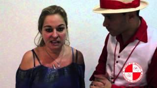 Depoimento de cliente Apito de Mestre após show com bateria de Escola de Samba