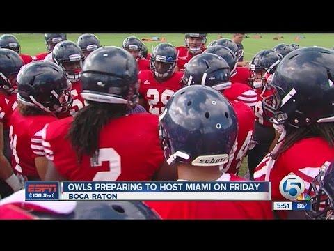 Hosting Miami a big deal for FAU