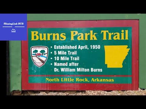 Shredding At Burns Park, Arkansas - Singletrack Fun In North Little Rock