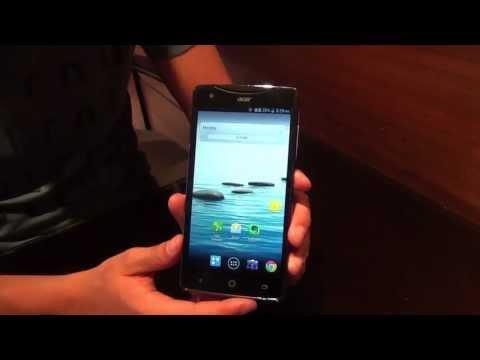 Acer Liquid S1 Hands-on | Deutsch