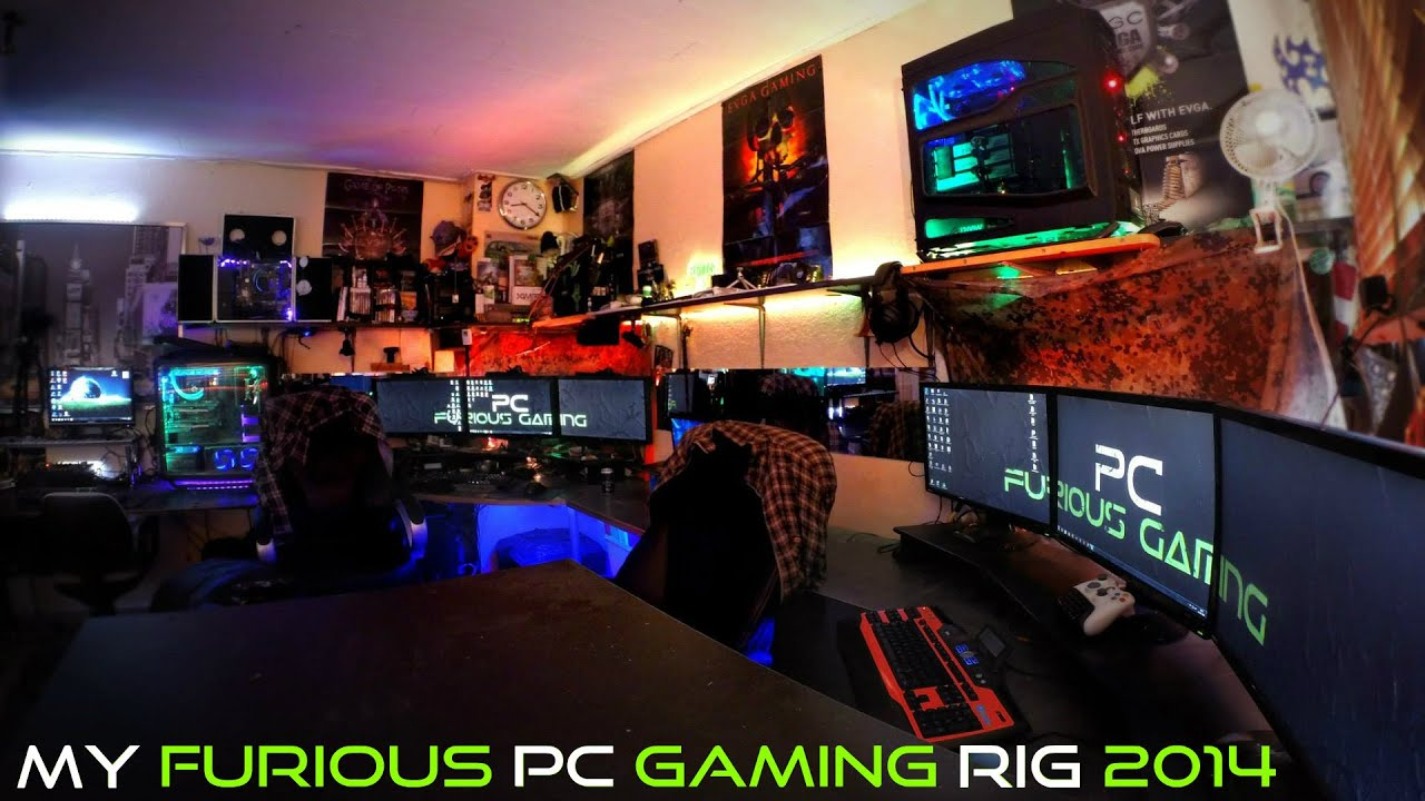 Ultimate Gaming Room My Furious PC G...