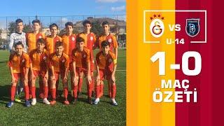 Özet | Galatasaray 4-1 M. Başakşehir (U15 Elit Gelişim Ligi)