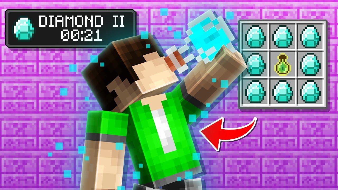 10 Minecraft DIAMOND Hacks We Added To Minecraft 1.17!