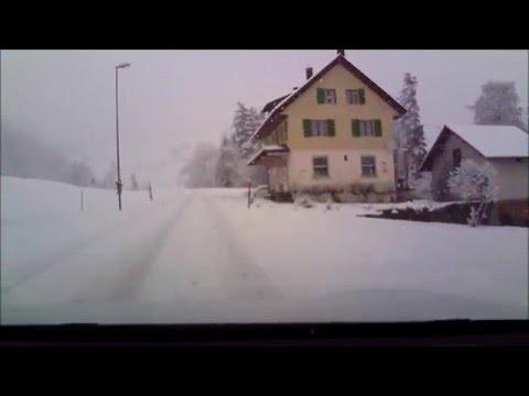 Tesla Model S 70D snow driving 2.0