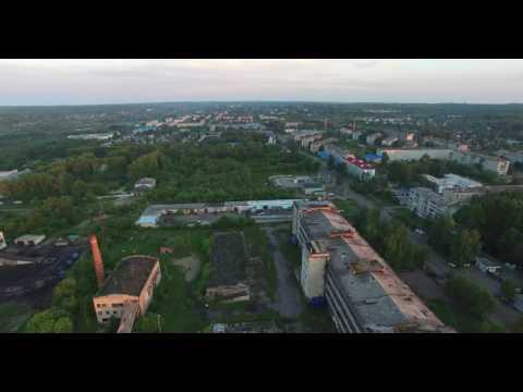 Райчихинск с высоты птичьего полета. Аэросъемка 4К