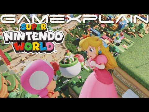 NEW Super Nintendo World Trailer + Mario Kart Ride (Born To Play - Universal Studios)