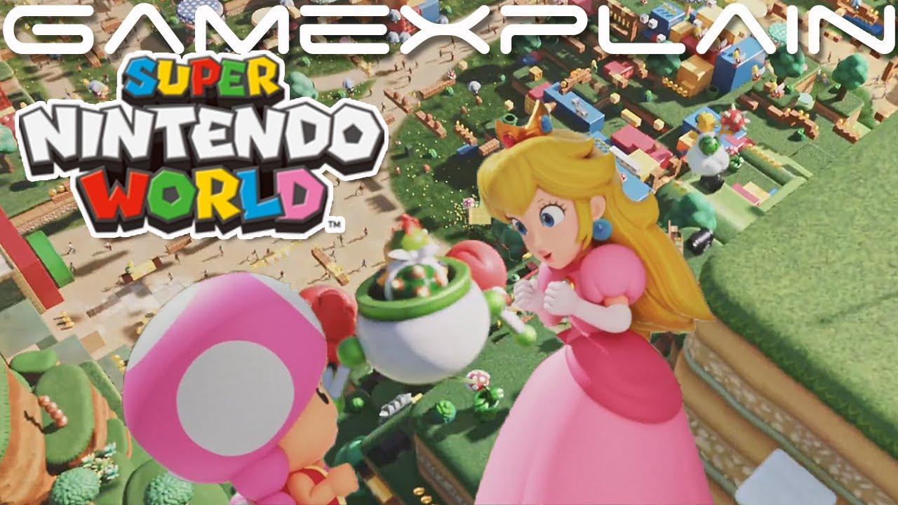 New Super Nintendo World Trailer Mario Kart Ride Born To Play Universal Studios Youtube
