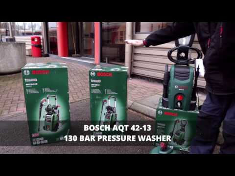 Bosch AQT Pressure Washers - Exclusive Overview Video Guide