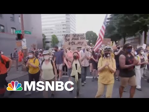New Florida Anti-protest Laws Protect Drivers Who Hit Protesters | Craig Melvin | MSNBC