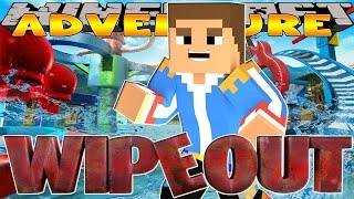 Minecraft - Little Donny Adventures - WIPEOUT COMPETITION W/ LITTLE KELLY WATCHING