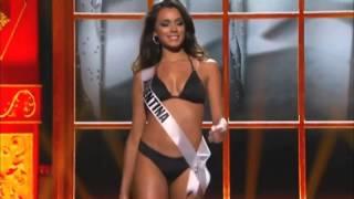 Miss Universo Argentina 2013 Competicion Preliminar RUSIA