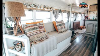 Couple Sells House & Builds A Skoolie In 4 Months Costing Under $16k