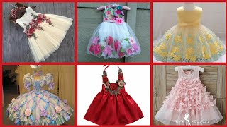 Beautiful Party Wear Baby Frocks Latest Design For Summer