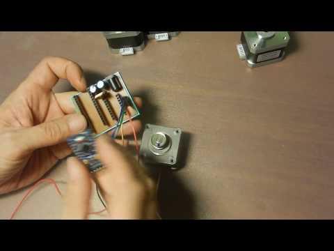 Как проверить шаговый двигатель и драйвер. Тестер на Arduino