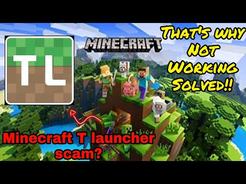 Tlauncher Free Minecraft is a Scam? Trojan?😈 Reality of Tlauncher Minecraft in hindi