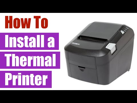POS-X Thermal Printer: Installation and Logo Setup with USB in