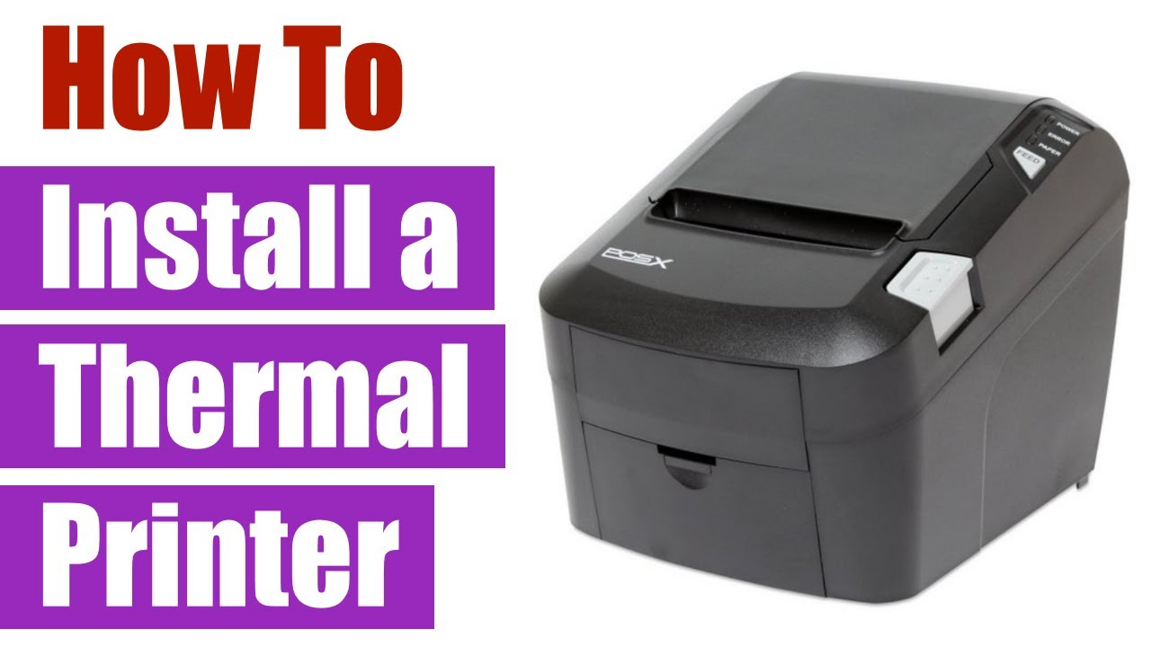 POS-X Thermal Printer: Installation and Logo Setup with USB in Windows 7