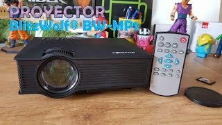 BlitzWolf BW MP1, nuevo proyector barato y con 1200 lumens [Unbox & Review]