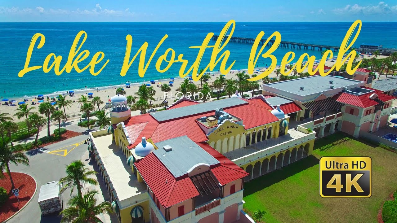 Lake Worth Beach, FL - Drone Flyover