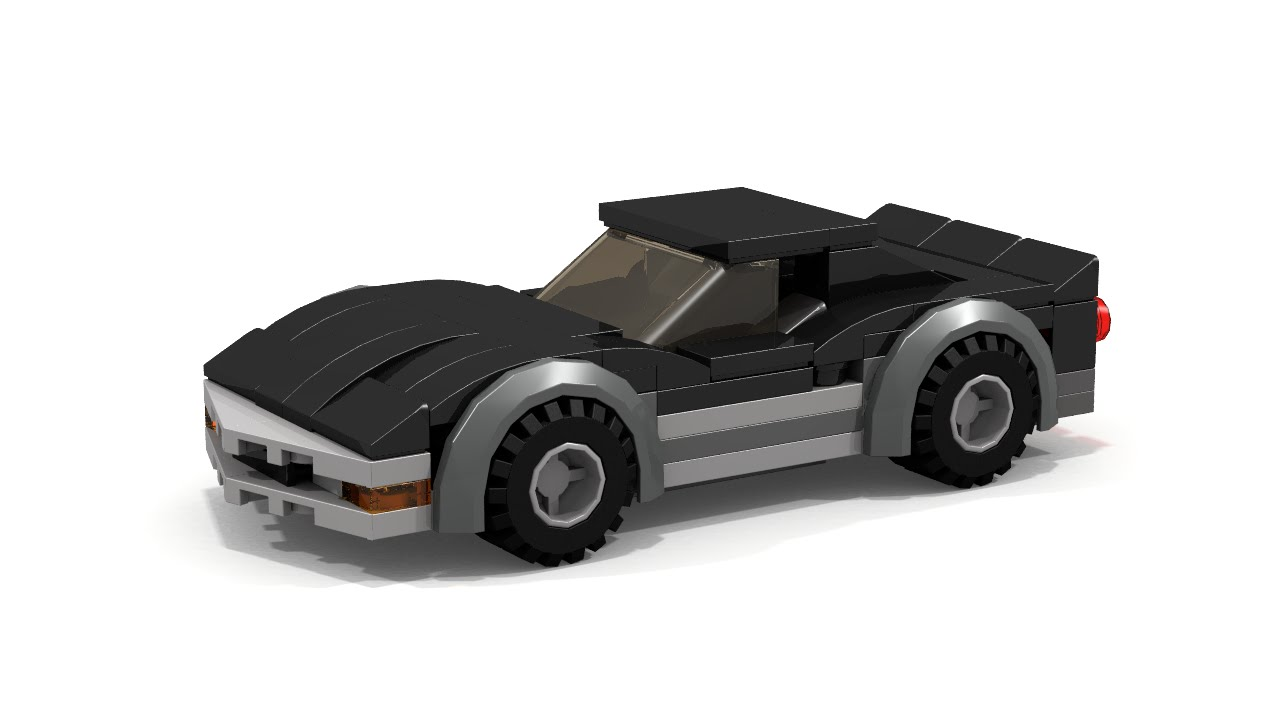 Lego Chevrolet Corvette C3 Instructions Youtube
