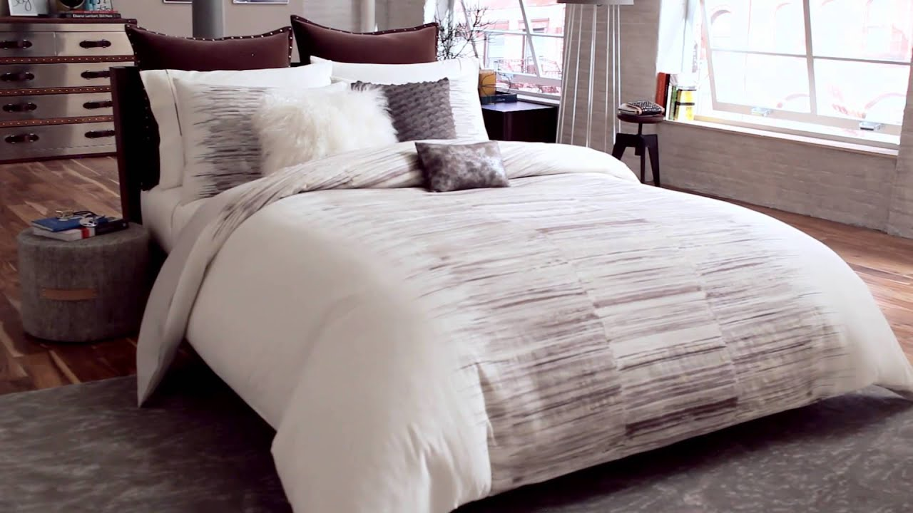 kenneth cole reaction landscape duvet collection at bed bath