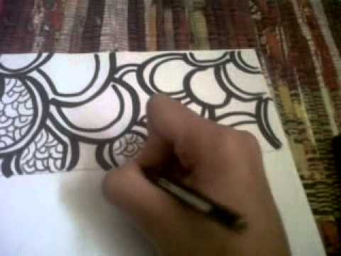 how to decorate 1st page of ur book (part 1) - youtube